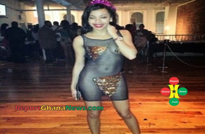 fashion police lady wear see through dress which covered