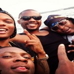 All Pictures From Wizkid and R2bees Moments of Fun In Town