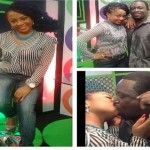 Blackboy Kisses Vicky Zugah On Live TV