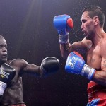 "Watch Video: Joshua Clottey Is New IBF international light middleweight – See How He ""Punished"" Mundine – Went Down 5 Times"