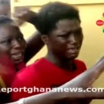 Watch Video: Two Ladies Severely Beaten By A Mob For Stealing Mobile Phone