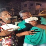 Shatta Wale and Manager Show Off Their Dollars