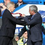 Watch Video: Arsene Wenger Fights With Jose Mourinho During A Football Match