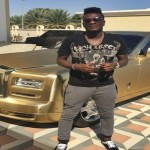 Checkout Asamoah Gyan's Luxurious Roll's Royce Car