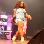Watch Video: Afia Schwarzenegger's Performance At Mzbel Red Concert