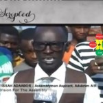 Watch Video: Just For Laughs – Assemblyman Aspirant Campaigns With A Rap Song