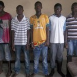 Sakawa Boys Arrested For Using A Friend For Rituals