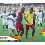 Watch Video: Asamoah Gyan, Adebayor and Others Dancing To Gasmila's Telemo