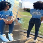 Sandra Ankobiah Shows Her Love For Paedae At Celebrity Football Game (More Photos)