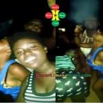 Watch Video: Kumasi SHS Girls Smoking Weed Outside A Nightclub
