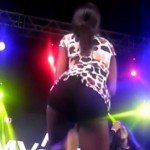 Watch Video: Girl Strips In Public To Win iPhone 6 At 4syte Music Video Awards