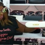 Afia Schwarzenegger Opens Designer Sunglasses Shop (More Photos)