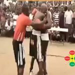 Watch Video: Lilwin Knocks Out Bukom Banku Twice In A Boxing Match