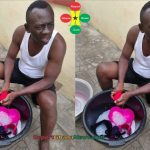 Akrobeto Washing Wife's Underwear (More Photos)