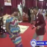 Watch Video: Bishop Obinim and Wife Romantic Dance Got Church Members Crazy