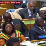 Watch Video: Jinapor, Otiko Take Selfie As Akufo-Addo Delivers Address at UN General Assembly