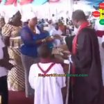 Watch Video: Ghanaian Pastor Selling Miracle Soap To Congregation For 100GHc