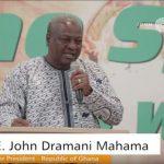Watch Video: Former President John Mahama Preaching In Church