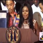 Watch Video: Afia Schwarzenegger Sends Message To Her Enemies At Adonko RTP Awards 2017