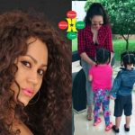 Checkout Nadia Buari And Her Twins (More Photos)
