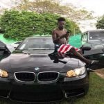 Watch Video: Shatta Wale Showcase Latest BMW Addition To His Fleet of Cars