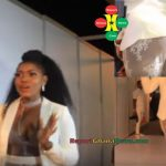 Watch Video: Victoria Lebene Seeking Attention With Her Dress At DJ Mensah Party