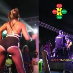 Watch Video: Ebony Pushes Brella Twice While Performing – Leave Me Alone