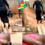 Watch Video: Just For Laughs – Lady Struggle To Walk In High Heel Shoe