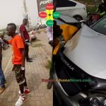 Patapaa Knocks Down Two People With His New Car (More Photos)
