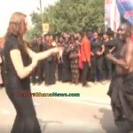 Watch Video: White Lady Tries To Dance To Ghanaian Culture Drums