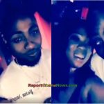 Watch Video: Ghanaian Actress Moesha Boduong hanging out with Davido