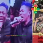 Watch Video: Shatta Wale Curses Ghanaian Journalists At Ebony's One Week Celebration
