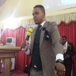 "Watch Video: Bishop Obinim Speaking ""Juju Language"" At Church"