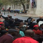Watch Video: Ghanaians in the U.K. Protesting Against Akufo Addo