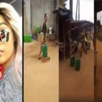 Watch Video: Facebook Slay Queen Runs After She Was Spotted Fetching Water