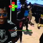 Watch Video: Asamoah Gyan Showcasing His Boxing Skills