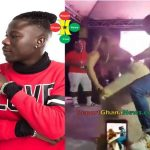 Watch Video: Stonebwoy Grinding another Big Butt Lady on Stage