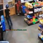 Watch Video: Captured on CCTV – Armed Robbers Attacked MaCathy Hill Total Shop