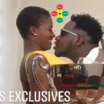 Watch Video: Fella Makafui Running Away From the Kisses of Medikal?