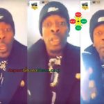 Watch Video: Shatta Wale Dropping a Song Called Ghana is a Village