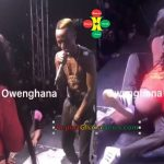 "Watch Video: Pataapa Almost Enter The ""Tonga"" Of Sista Afia's on Stage"