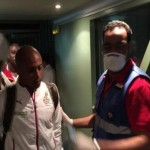 Black Stars Players Tested For Ebola in Equatorial Guinea (More Photos)