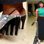 Fashion Police: Checkout High Heel Shoe A Lady Wore To An Event