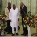 Watch Video: Nana Akufo Addo Falls During Prayer Session