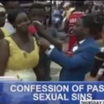 Watch Video: Bishop Obinim Forces Church Members To Confess Their Sexual Escapades