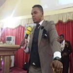 """Watch Video: Bishop Obinim Speaking """"Juju Language"""" At Church"""