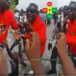 Watch Video: Shatta Wale Gives Money To His Fans In Kumasi
