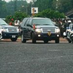 Watch Video: President Nana Addo Traveling With 45 V8 Cars