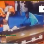Watch Video: Prophet Sleeps In Coffin At Church For Miracle