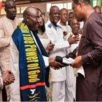 Watch Video: President Nana Addo Refuses To Shake Hands With Dr. Bawumia